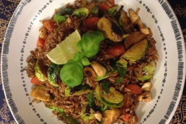 THE GOODIE'S BRUSSEL SPROUTS THAI-STYLE RICE
