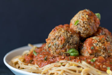 THE GOODIE'S VEGAN EGGPLANT (NO) MEATBALLS