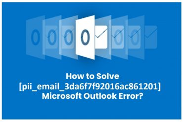 How to fix [pii_email_3da6f7f92016ac861201] error? 100% fix